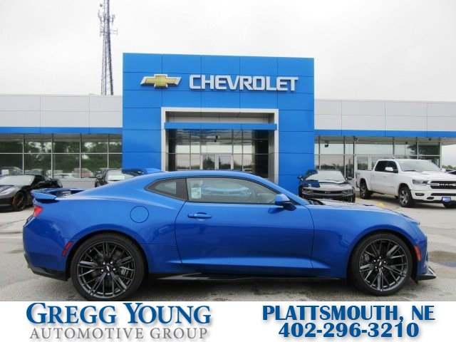 New 2018 Chevrolet Camaro Zl1 2d Coupe In Omaha E1399 Gregg Young