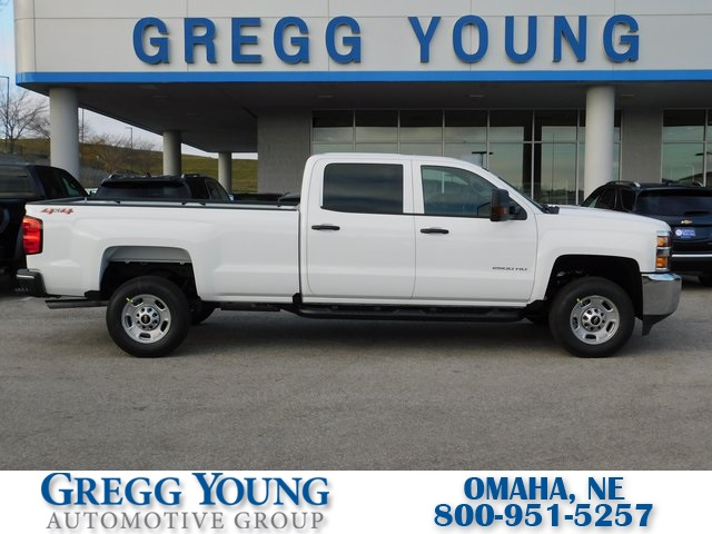 New 2019 Chevrolet Silverado 2500hd Work Truck 4d Crew Cab In Omaha