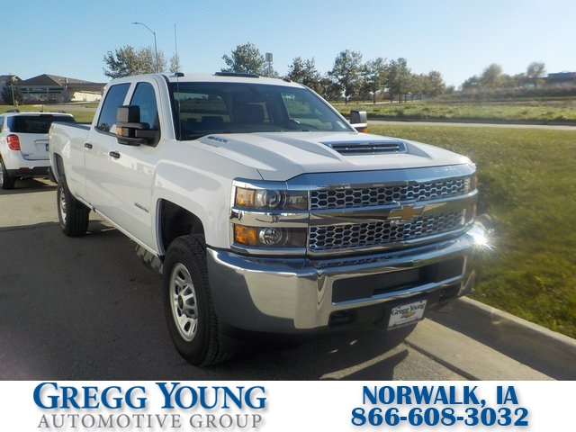 New 2019 Chevrolet Silverado 3500hd Work Truck 4d Crew Cab In Omaha