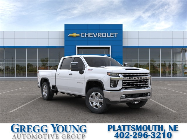 New 2020 Chevrolet Silverado 2500hd Ltz 4d Crew Cab Summit White For Sale In Omaha E2330