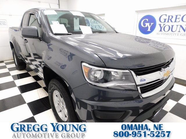 Certified Pre Owned 2016 Chevrolet Colorado Work Truck