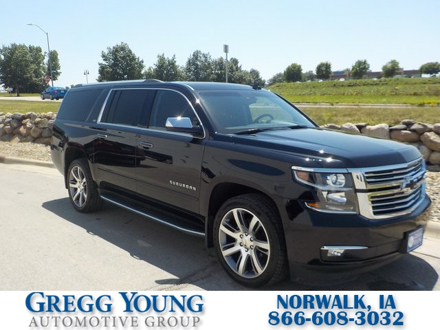 Pre-Owned 2016 Chevrolet Suburban LTZ 4WD