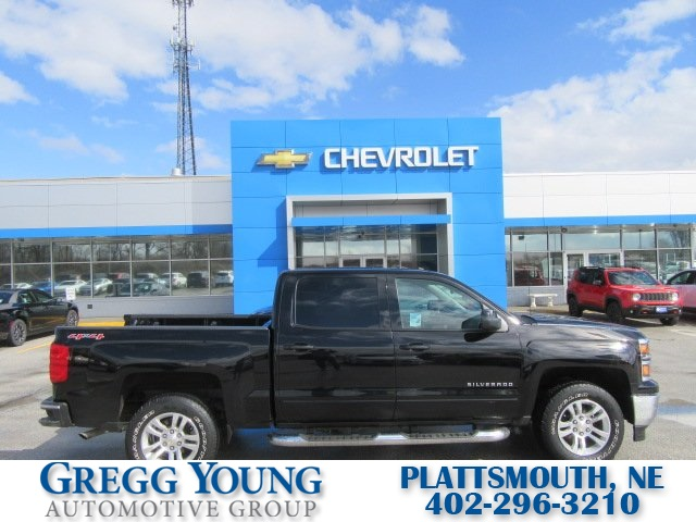 Certified Pre Owned 2015 Chevrolet Silverado 1500 Lt 4d Crew Cab In